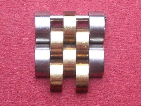 Rolex Ersatz-Armband-Glied Stahl/Gold, 12,2mm