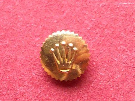 Rolex Krone gold,  Ø4,25mm, Gesamthühe 1,8mm, Gewinde 0,9mm