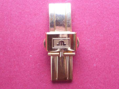 Maurice Lacroix Armband- Schließe, Vergoldet, Faltschließe, 12mm