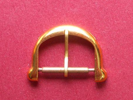 Maurice Lacroix Armband- Schließe, Vergoldet, Dornschließe, 16mm