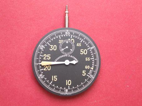 Uhrwerk CRONOGRAPHO A RITORNO, Bomben-Abwurf-Uhr