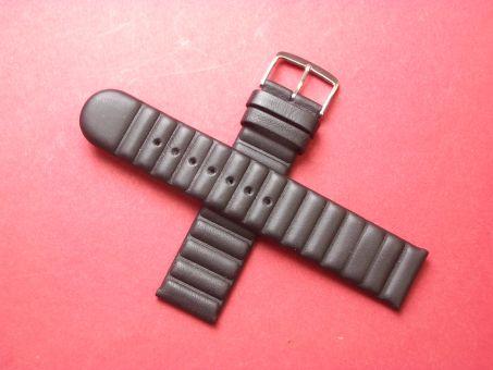 Leder-Armband  20mm,  Signiert: JOOP! Time, Farbe: Schwarz
