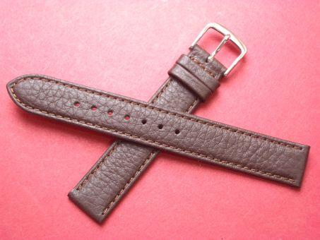 Leder-Armband Graf 16mm  Farbe: Braun