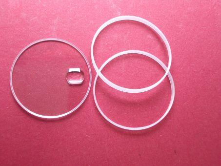 Saphirglas passend auch für Uhren der Marke Rolex Typ: 25-295-C12