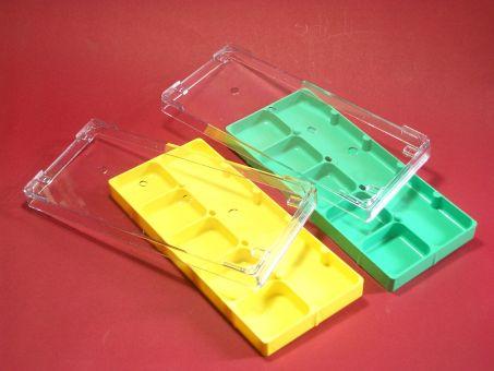 Stapelbare Aufbewahrungsdose Box mit 6 Fächern