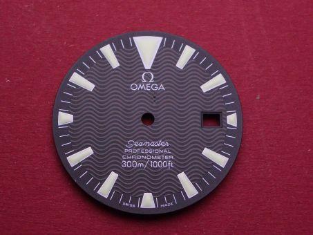 Omega Seamaster 168.1640 Zifferblatt, Ø 30.50 mm , Farbe: Schwarz für Kaliber 1120