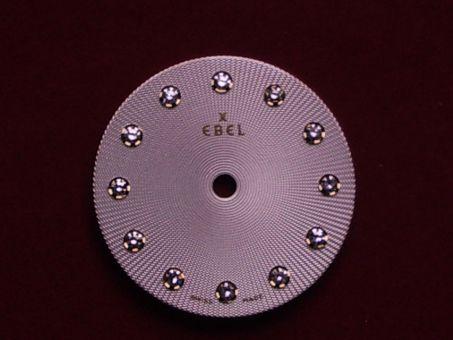 Ebel Sport Zifferblatt mit 12 Diamanten besetzt, Ø 19,5mm, Ref:. 8090124