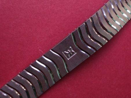 Ebel Stahl Metall-Armband, mit verdeckter Schließe, Länge: 151mm, Breite: 14,9mm am Gehäuse 11,9mm an der Schließe