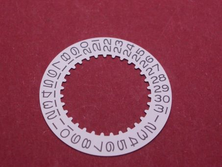 Rolex 1535-7961-1 Datumscheibe versilbert Datumsfenster bei der 3