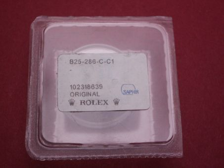 Rolex Saphirglas Typ: 25-286-C-C1