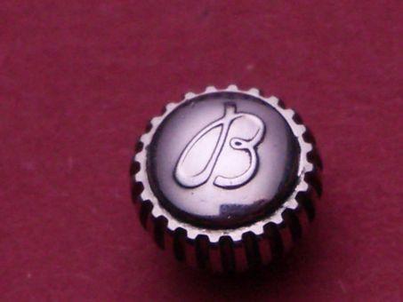 Breitling Krone, Stahl , Ø 8mm, Höhe 7,86mm / 4,9mm, Gewinde 0,9mm,
