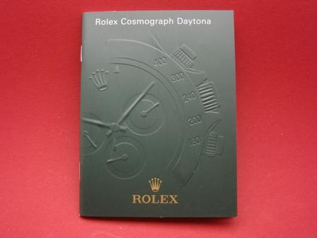 Rolex Cosmograph Daytona Prospekt mit verschiedenem Druckdatum als Zubehör